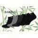 Kotníkové bambusové ponožky M - 5-párov
