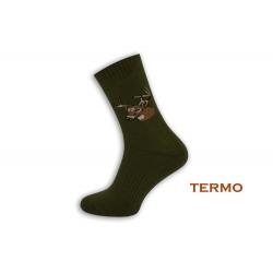 Termo poľovnícke ponožky. Jeleň.