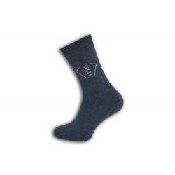 Bl. modré pánske termo ponožky. SPORT.