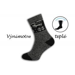 Prírodné výnimočne teplé ponožky - melýrové