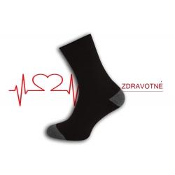 Dobré teplé zdravotné ponožky - čokoládové