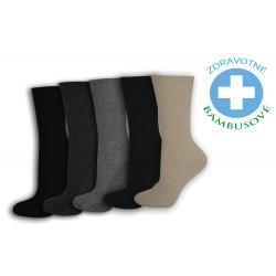 IBA 39-42! Zdravotné ponožky- 5párov v balení