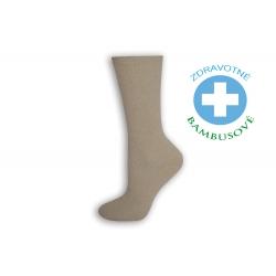IBA 39-42! ! Dámske bambusové zdravotné ponožky -telové