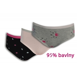 Klasické dievčenské bavlnené nohavičky