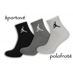 Polofroté športové ponožky - 3-páry