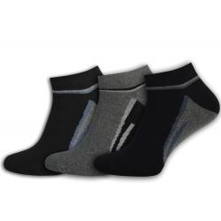 Pánske bavlnené ponožky. 3-páry