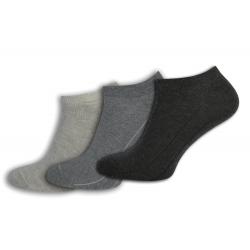PREMIUM. Bavlnené ponožky - 3-páry