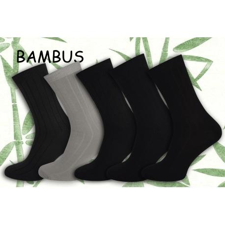 5-párov bambusových pánskych ponožiek