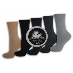 TOP! . 92%-né bavlnené vysoké dámske ponožky