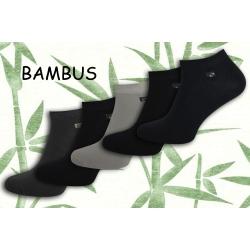 Bambusové kotníkové ponožky. 5-párov
