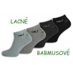 4-páry lacných bambusových ponožiek