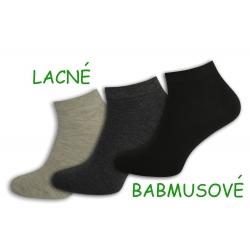 3-páry lacných bambusových ponožiek