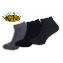 Exkluzívne bambusové nízke ponožky. 3-páry