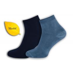 AKO HODVÁB!  Modré, bl. modré pánske ponožky