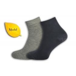 AKO HODVÁB! Sivé, šedé pánske ponožky