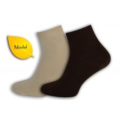 AKO HODVÁB! Telové, hnedé pánske ponožky