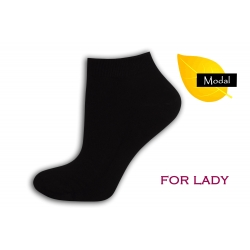 IBA 36-39! Dámske čierne ponožky z modalu
