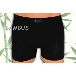 ACTIVE. Čierne bambusové pánske boxerky .