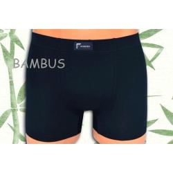 ACTIVE. Tm. modré bambusové pánske boxerky .