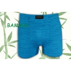 Belasé bambusové boxerky so vzorom