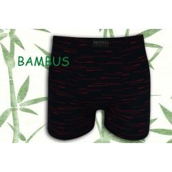 Tm. modré bambusové boxerky so vzorom