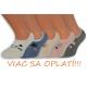 5-párov detských ponožiek na leto