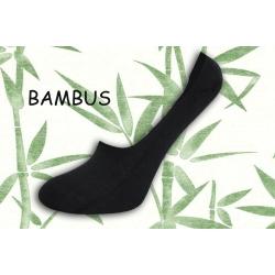 Bambusové šedé neviditeľné ponožky