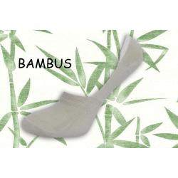 Bambusové telové neviditeľné ponožky