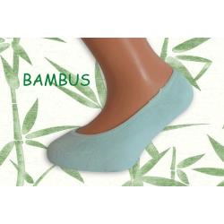 Tyrkysové ponožky do sandáliek