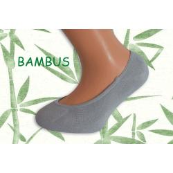 Sivé ponožky do sandáliek