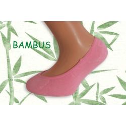Ružové  ponožky do sandáliek