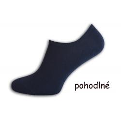 Pánske ponožky do tenisiek - modré
