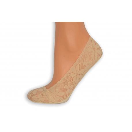Telové Turecké krajkové ponožky