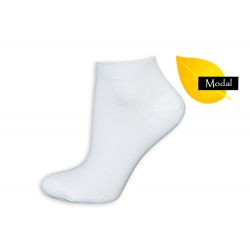 Biele dámske ponožky z Modalu