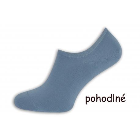 Pánske ponožky do tenisiek - belasé