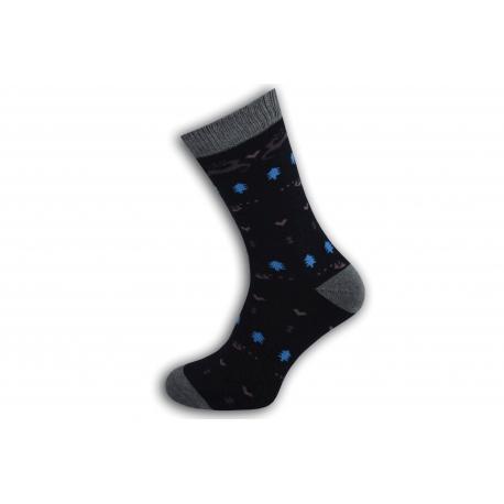 98%-né bavlnené teplé dámske ponožky