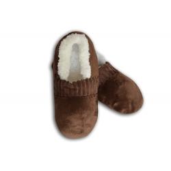 Hnedé pánske nízke papuče