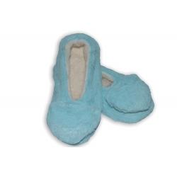 Belasé dámske papuče so srdiečkom
