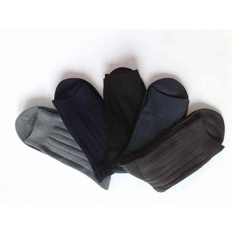 Pánske oblekové bavlnené ponožky 5 párov.